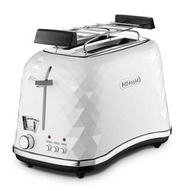 DeLonghi CTJ 2103.W Toaster (Weiß)