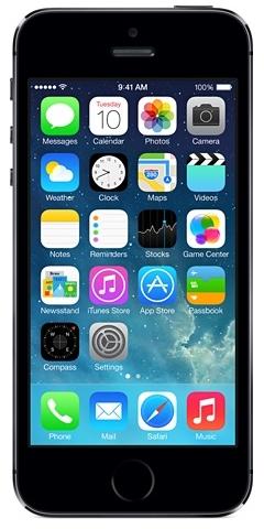 Apple iPhone 5s 32GB 4G Grau