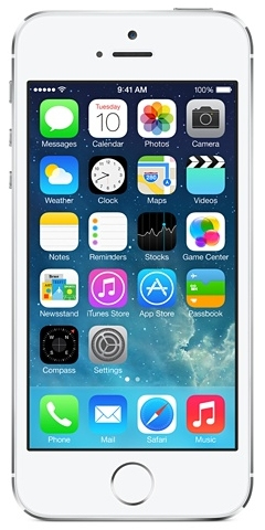 Apple iPhone 5s 32GB 4G Silber (Silber)