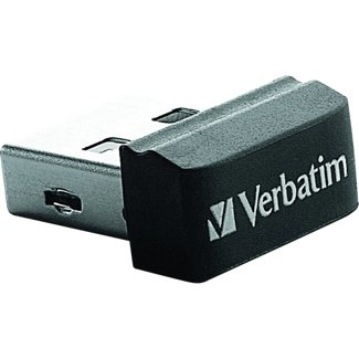 Verbatim 8GB Store' n' Go Nano USB 2.0 8GB USB 2.0 Schwarz USB-Stick (Schwarz)