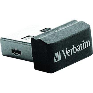 Verbatim 32GB Store' n' Go Nano USB 2.0 32GB USB 2.0 Schwarz USB-Stick (Schwarz)