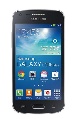 Samsung Galaxy Core Plus SM-G3500 4GB Schwarz (Schwarz)