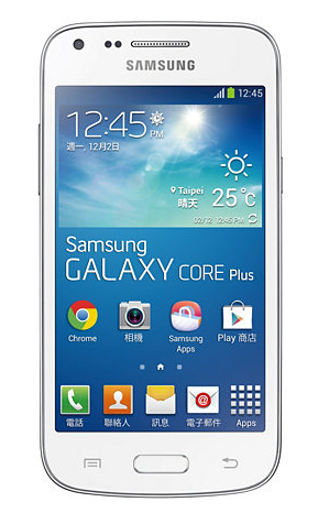 Samsung Galaxy Core Plus SM-G3500 4GB Weiß (Weiß)