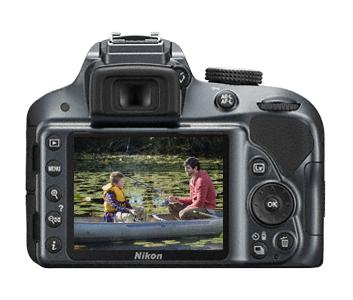 Nikon D3300 (Grau)