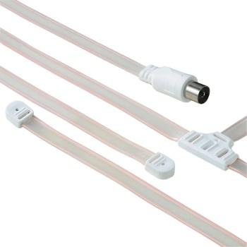 Hama 00122482 TV-Antennen (Weiß)