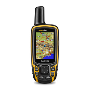 Garmin GPSMAP 64 (Schwarz, Orange)