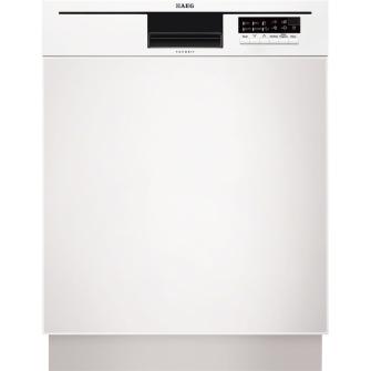AEG F56512UW0 Integrierbar 12places A++ Weiß (Weiß)