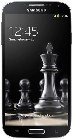 Samsung Galaxy S4 GT-I9505 4G Schwarz (Schwarz)