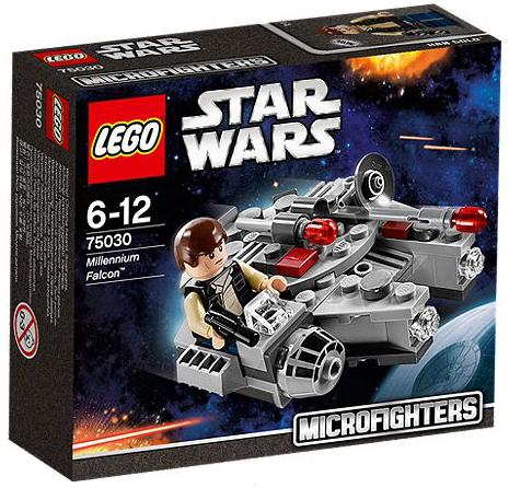 Lego Star Wars Microfighters 75030 - Millennium Falcon (Mehrfarbig)