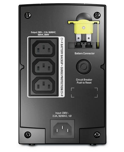 APC BX500CI Unterbrechungsfreie Stromversorgung UPS (Schwarz)