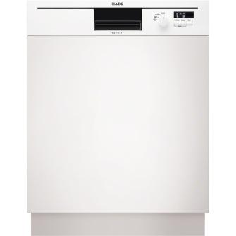 AEG F50502IW0 Semi built-in 12places A+ White (Weiß)