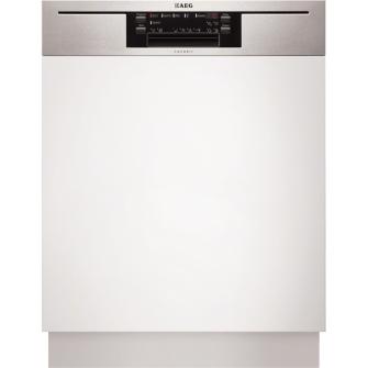 AEG F65712IM0P Integrierbar 15places A+++ Weiß (Weiß)