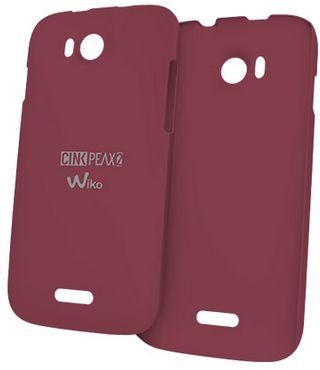 Wiko 91133 Handy-Schutzhülle (Rot)