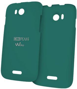 Wiko 91134 Handy-Schutzhülle (Grün)