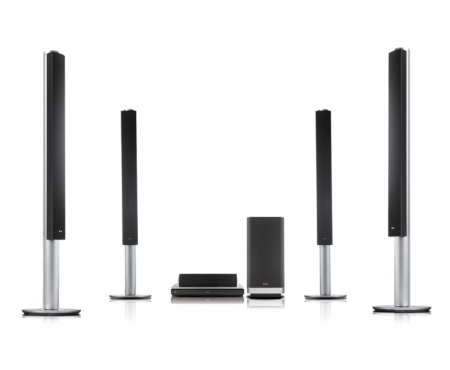 LG BH9540TW Home-Kino System (Silber)