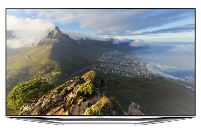 """Samsung UE55H7000SZ 55"""" Full HD 3D Kompatibilität Smart-TV WLAN Schwarz (Schwarz)"""