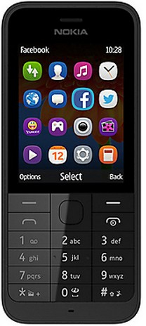 """Nokia 220 2.4"""" 83.6g Schwarz (Schwarz)"""