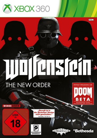 Bethesda Wolfenstein: The New Order, Xbox 360