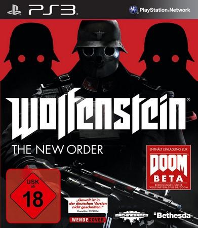 Bethesda Wolfenstein: The New Order, PS3