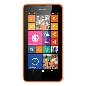 Nokia Lumia 630 8GB Schwarz, Orange (Schwarz, Orange)