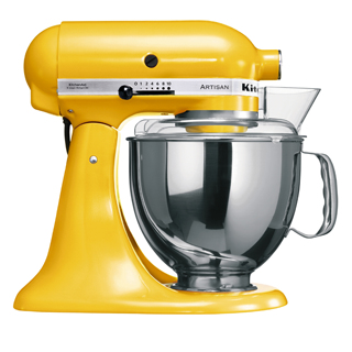 KitchenAid 5KSM150PS (Gelb)