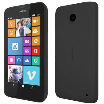 Nokia Lumia 630 8GB Schwarz (Schwarz)