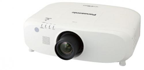 Panasonic PT-EZ580E Beamer/Projektor (Weiß)