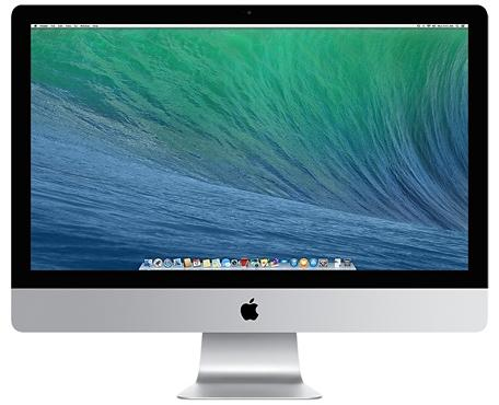 "Apple iMac 27"" (Silber)"