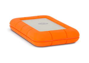 LaCie 9000489 Externe Festplatte (Orange)