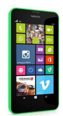 Nokia Lumia 635 8GB 4G Grün (Grün)