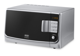 DeLonghi MW 25G Mikrowelle (Silber)