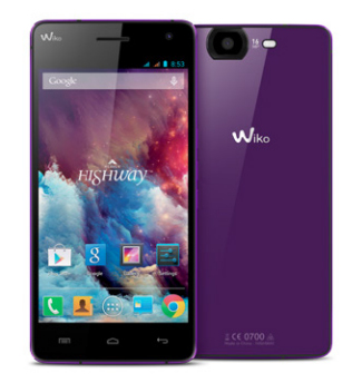 Wiko HIGHWAY 16GB Violett (Violett)