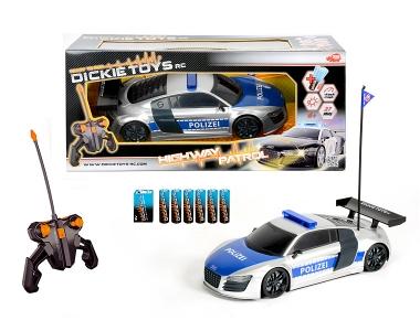 Dickie Toys Dickie RC Highway Patrol RTR (Schwarz, Blau, Weiß)