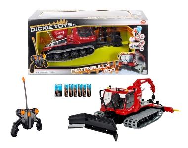 Dickie Toys Dickie RC Pistenbully 600 RTR (Schwarz, Grau, Rot)