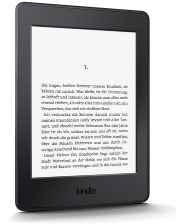 Amazon Kindle Paperwhite WIFi (Schwarz)