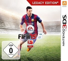 Electronic Arts FIFA 15 Legacy Edition, 3DS