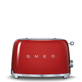 Smeg TSF01RDEU Toaster (Rot)