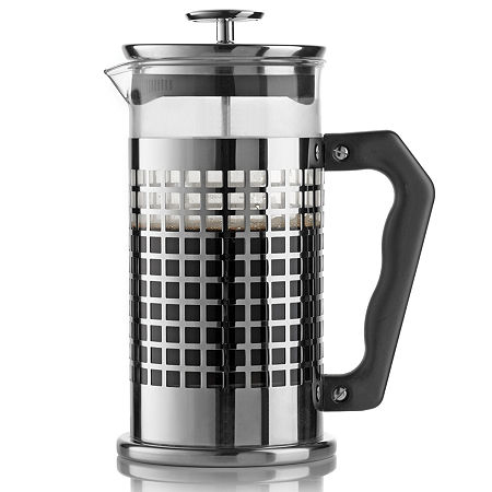 Bialetti Trendy Single french press 1l (Edelstahl, Transparent)