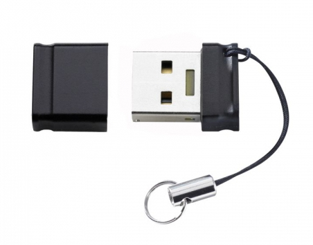 Intenso Slim Line 16GB USB 3.0 16GB USB 3.0 Schwarz USB-Stick (Schwarz)