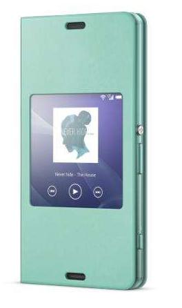 Sony 1287-5831 Handy-Schutzhülle (Grün)