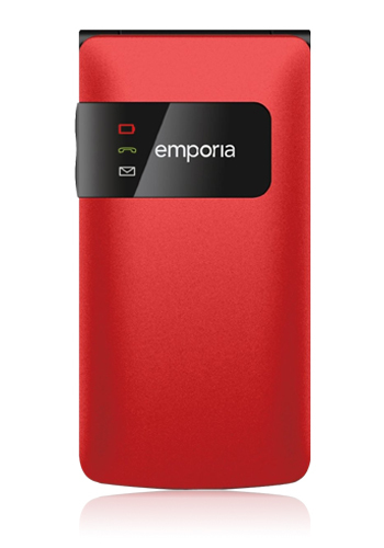 """Emporia FLIPbasic 2.2"""" 88g Rot (Rot)"""