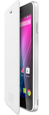 Wiko 104410 Handy-Schutzhülle (Weiß)