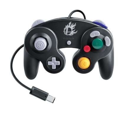 Nintendo GameCube Controller Super Smash Bros. Edition (Schwarz)