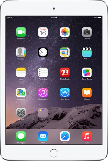 Apple iPad Air 2 16GB 3G 4G Silber (Silber)