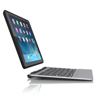 Zagg ID6ZF2-BBG Tastatur für Mobilgerät (Silber)