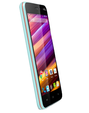 Wiko JIMMY 4GB Blau, Orange (Blau, Orange)