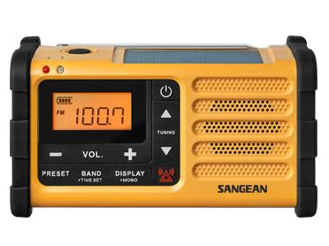 Sangean MMR-88 Radio (Schwarz, Gelb)