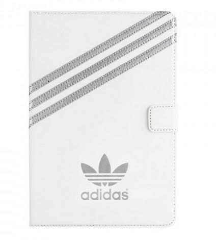 Adidas 18404 Tablet-Schutzhülle (Silber, Weiß)