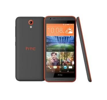 HTC Desire 620 8GB 4G Grau, Orange (Grau, Orange)