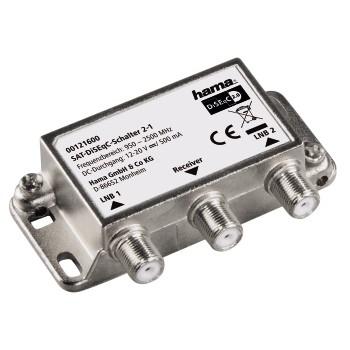 Hama 00121600 LNB (low noise block downconverter) (Edelstahl)